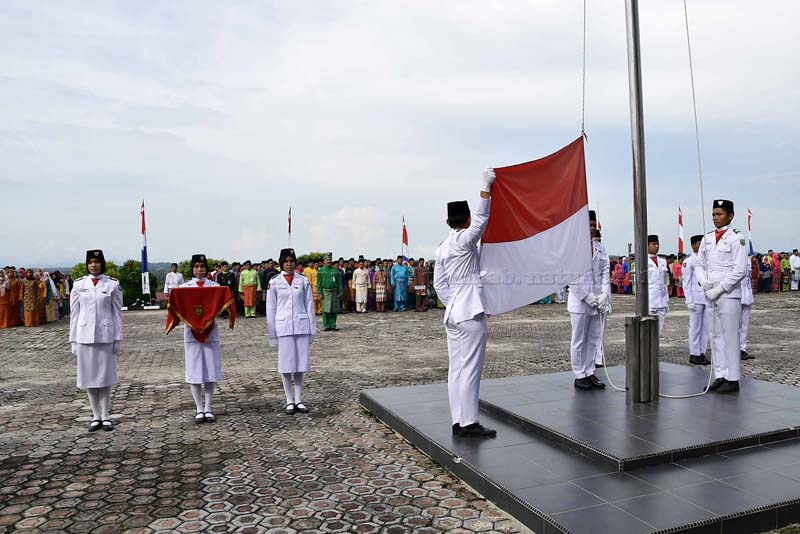 Pemkab Natuna Gelar Upacara Peringatan Hari Jadi ke-19, tahun 2018-2