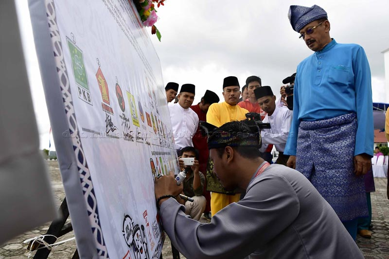 Pemkab Natuna Gelar Upacara Peringatan Hari Jadi ke-19, tahun 2018-4