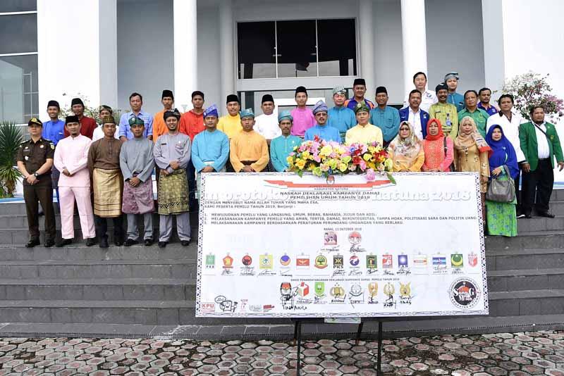 Pemkab Natuna Gelar Upacara Peringatan Hari Jadi ke-19, tahun 2018-5